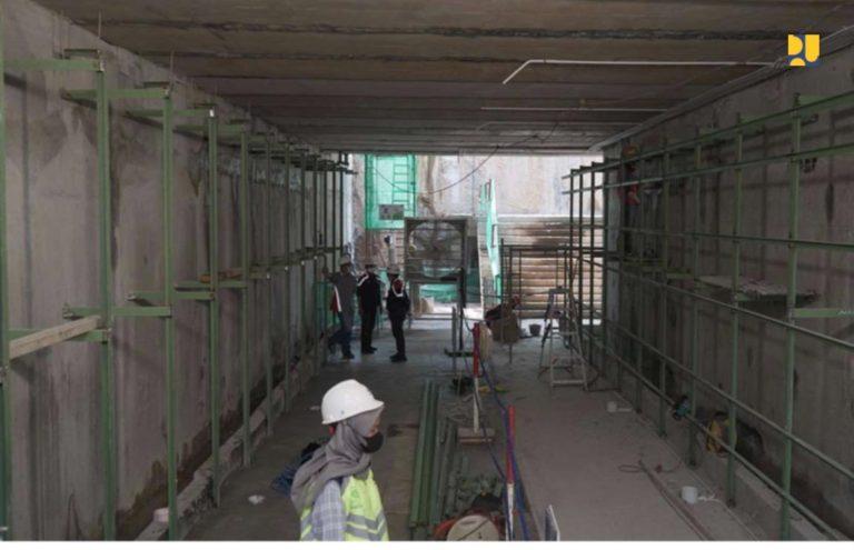 Pembangunan Terowongan Istiqlal-Katedral Ditargetkan Rampung Agustus 2021