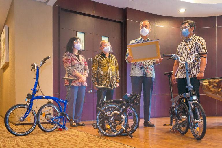 Kemenperin Dukung Sepeda Lokal asal Bandung ke Kancah Internasional