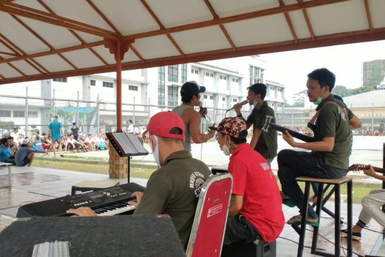 Mengenal The Rudstik, Band Warga Binaan Rutan Depok