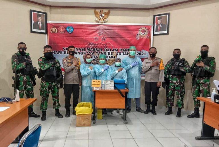 Sinergitas TNI-Polri dalam Menjaga Stabilitas Keamanan di Papua