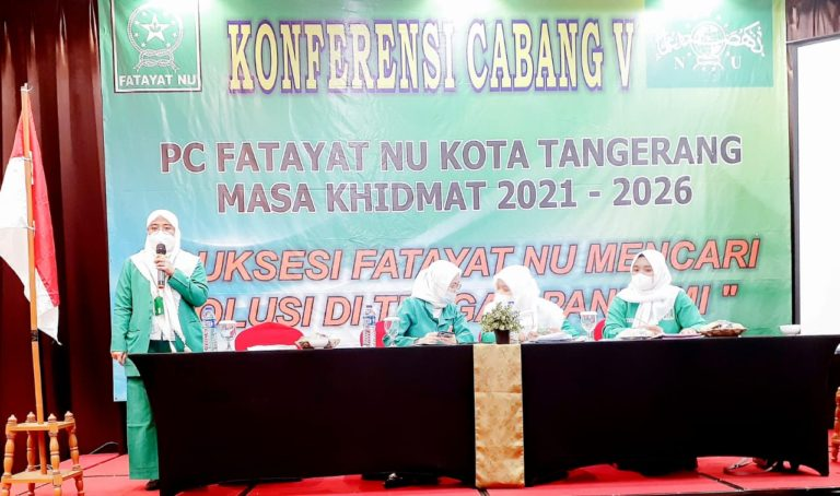 Nony Menawati Bertekad Bawa Fatayat NU Kota Tangerang Mandiri dan Berkualitas