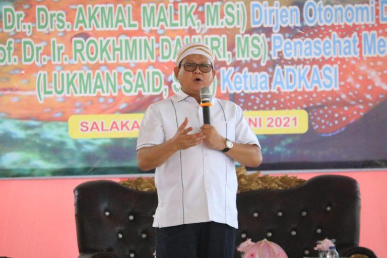 Prof Rokhmin dorong Pemkab Bangkep kembangkan Inovasi Sektor Kelautan dan Perikanan