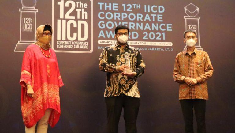 Jasa Marga Raih Best Right of Shareholders di Ajang IICD Awards 2021