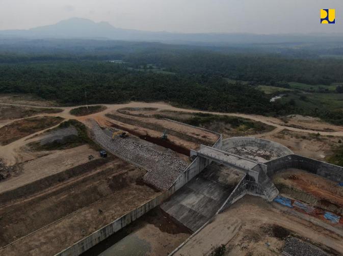Kementerian PUPR Targetkan Bendungan Semantok di Jatim Rampung Tahun 2022