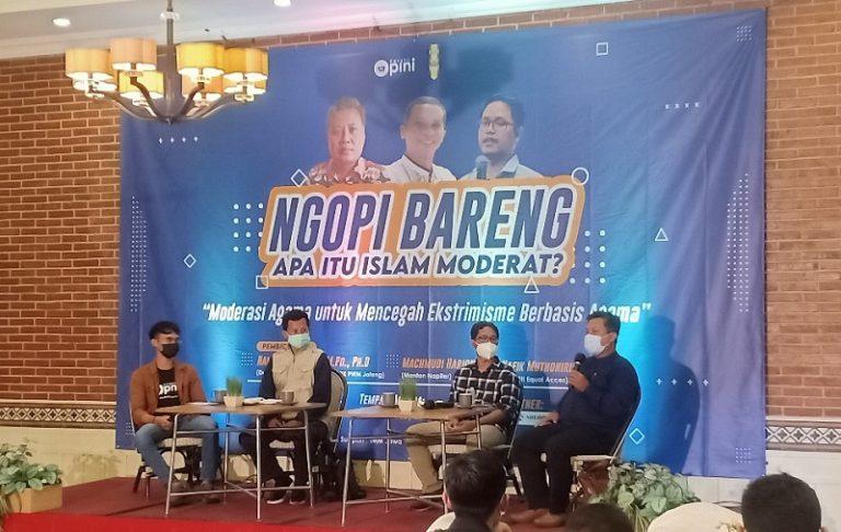 Gandeng Cangkir Opini, IMM Suarakan Gerakan Islam Moderat
