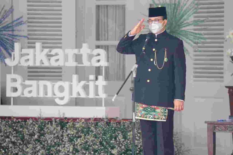 Peringati HUT Jakarta ke-494, Anies Ajak Warga Ambil Bagian dalam Pemulihan Kota