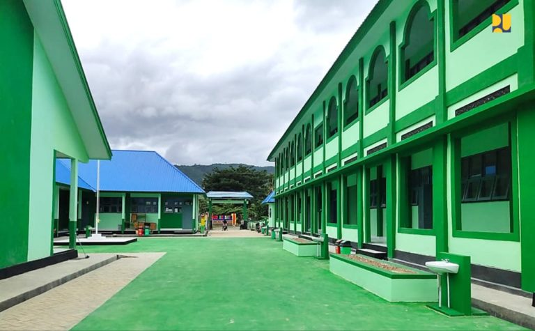 Kementerian PUPR Selesaikan Rehabilitasi 9 Madrasah di Sulawesi Tenggara sepanjang 2020-2021