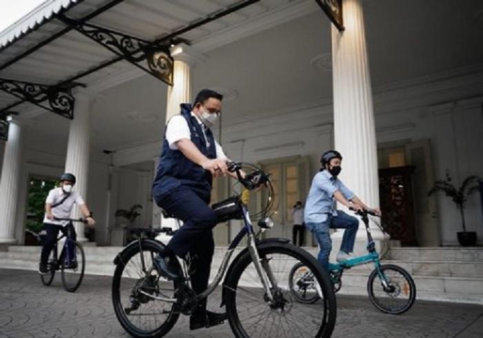 Khusus Hari Ini, Anies Ajak Warganya Pakai Sepeda Saat Beraktivitas
