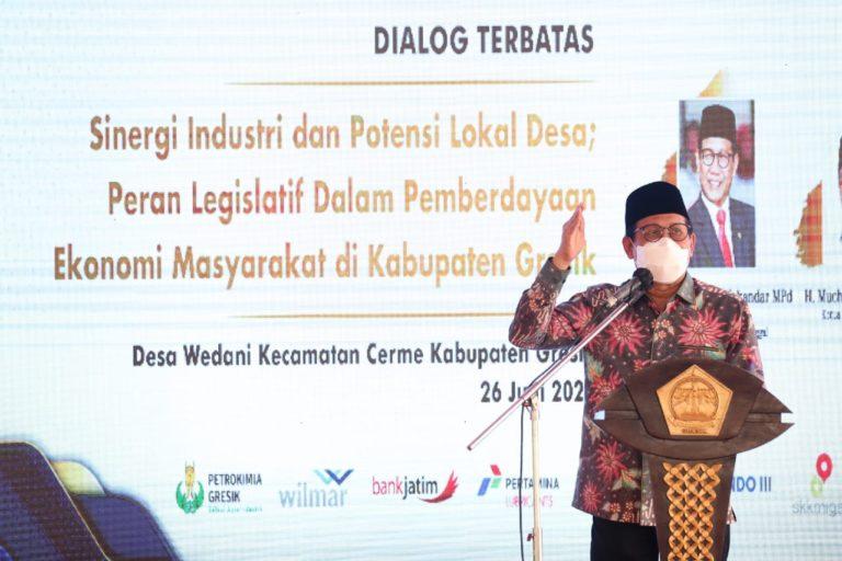 Mendes dukung Gagasan Desa Devisa di Gresik jadi Model Percontohan Nasional