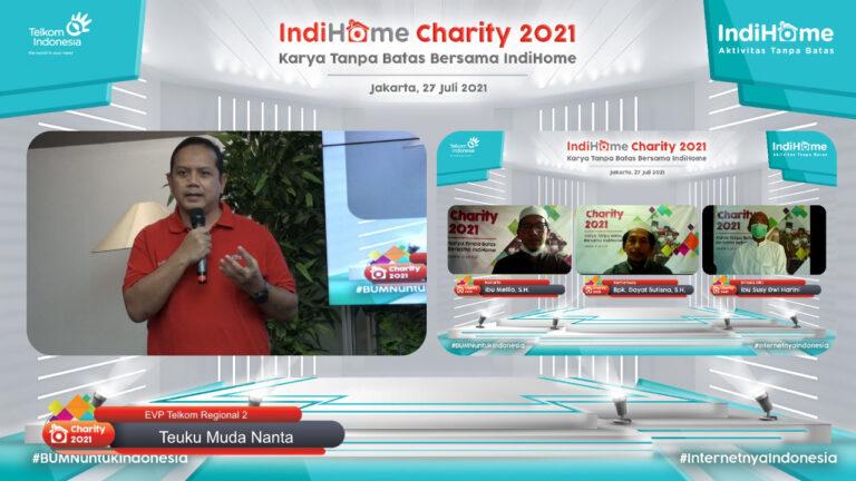 IndiHome Alokasikan Bantuan Rp420 Juta di Kuartal II 2021