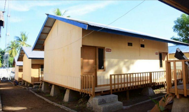 Dibantu Sekolah Relawan Depok, Puluhan Warga NTT Miliki Rumah Baru