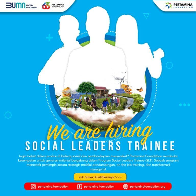 Pertamina Foundation Ajak Milenial Gabung Social Leaders Trainee