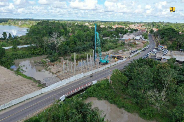 Kementerian PUPR Bangun Jembatan Nibung di Bangka Tengah
