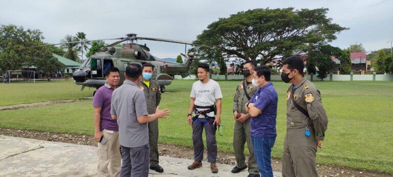 Heli Super Puma Dukung Evakuasi Dua Jenazah Teroris Poso