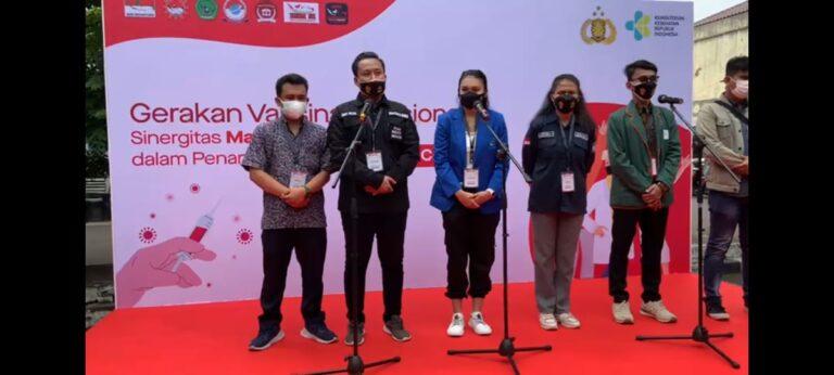 DEMA PTKIN se-Indonesia dan Aliansi Mahasiswa serukan 'Gerakan Berani Vaksin'