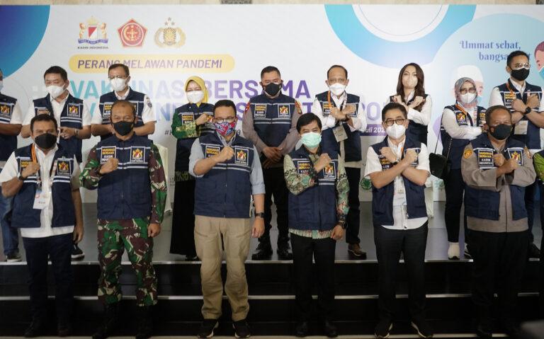 Kadin Indonesia dan TNI-Polri Deklarasi Gerakan Perang Melawan Pandemi