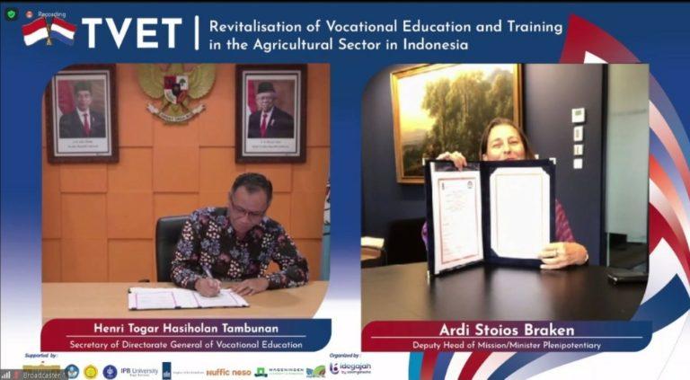 Indonesia-Belanda Perkuat Kerja Sama Pendidikan Melalui Proyek Green Education