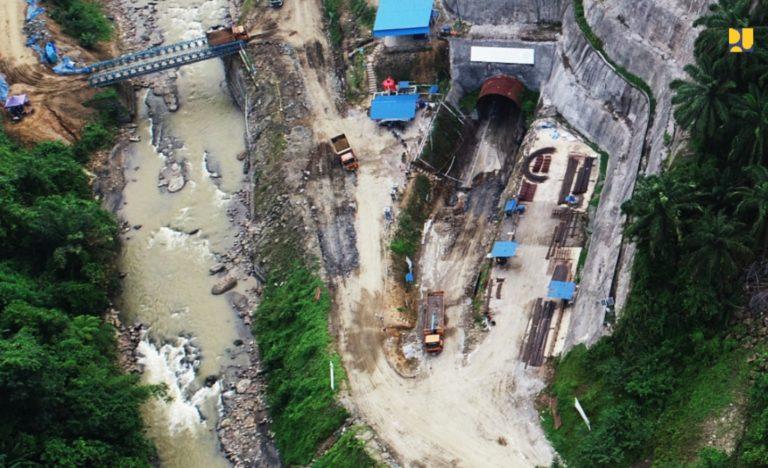 Kementerian PUPR Percepat Konstruksi Bendungan Lau Simeme