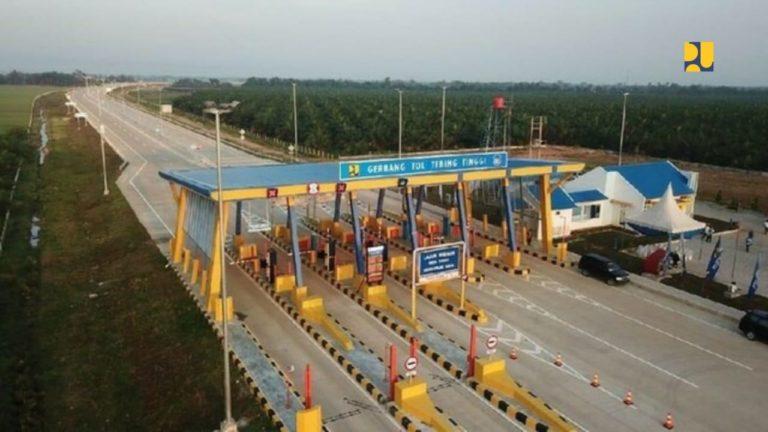 Tol Kuala Tanjung-Tebing Tinggi-Parapat Seksi 1-4 Rampung Akhir 2021