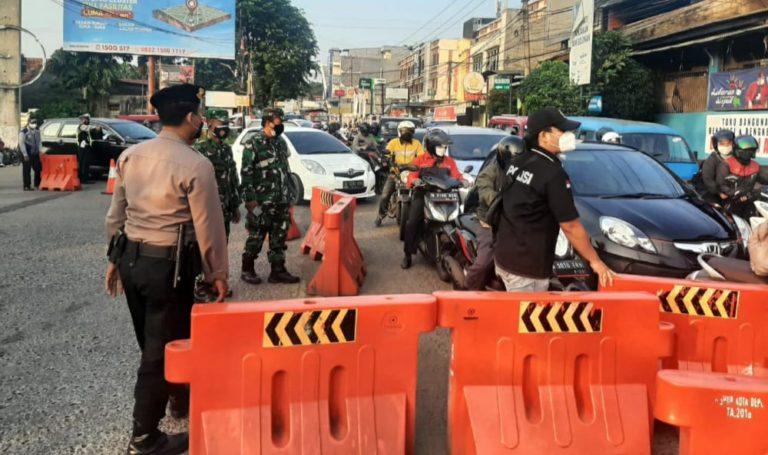Catat! Berikut Titik Penyekatan di Kota Depok Saat PPKM Darurat