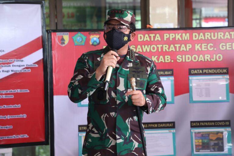 Panglima TNI: PPKM Strategi Putus Mata Rantai Penularan Covid-19
