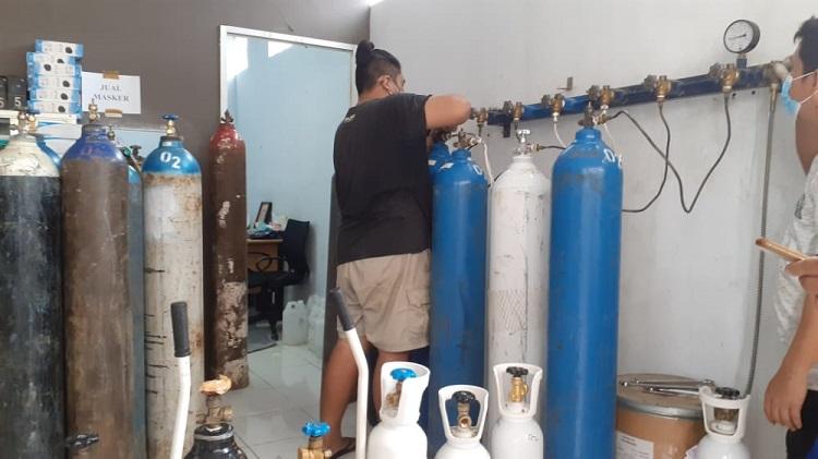 Pemkot Depok Terima Bantuan Empat Ton Oksigen Liquid