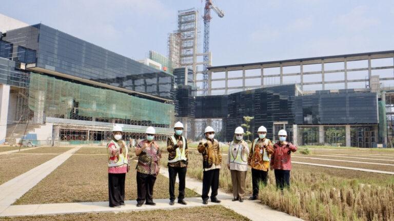 Kunjungi Pembangunan UIII, Wakil Wali Kota Depok: Keren!