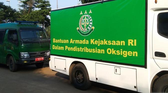 Bantu Distribusi Oksigen, Kejati Sediakan Mobil Tahanan