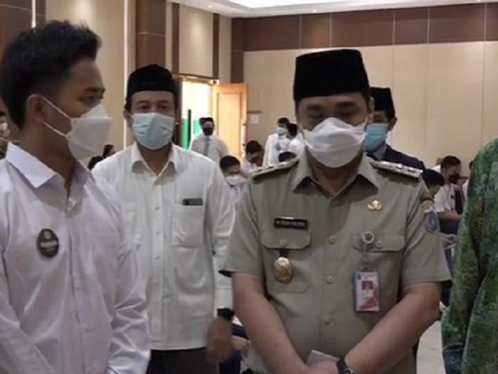 Wagub DKI Ngaku Tahu Bahasa Arab Vaksin dan Masker dari Santri Darunnajah