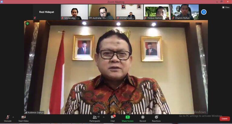 Ajak PPI Dunia Tingkatkan Peran, Prof Rokhmin: Visi Indonesia Emas 2045 Tidak Boleh Gagal
