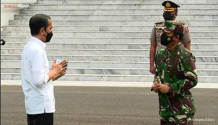 TNI Siap Distribusikan Paket Obat Gratis Isoman Covid-19