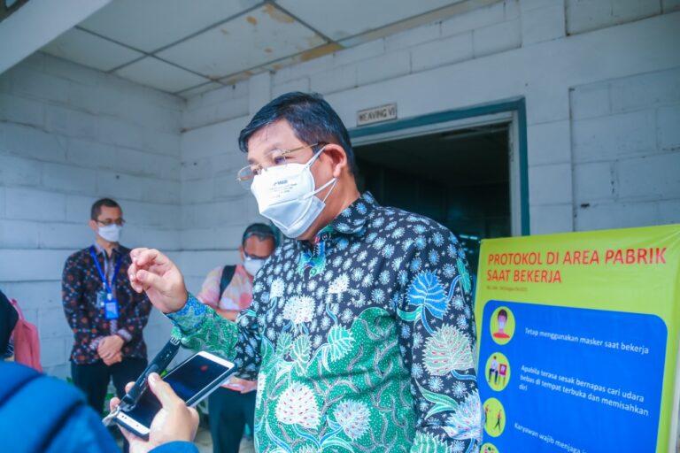Masuk Kategori Krtikal, Produksi Industri Pestisida dan Keramik Tetap Dijaga