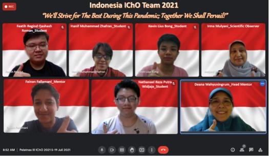 Pelajar Indonesia Torehkan Prestasi di Ajang International Chemistry Olympiad 2021