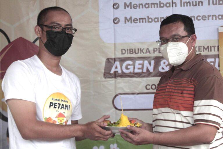 Petani Milenial Bogor Luncurkan Produk Madu Petani, Kementan: Menguntungkan dan Membantu Penyerbukan