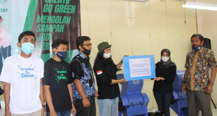 PT Jamkrindo Resmikan Rumah Sampah di Garut