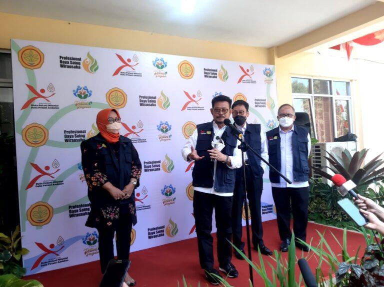 Jokowi Dukung Inisiatif Kementan Terkait Pelatihan Petani Milenial