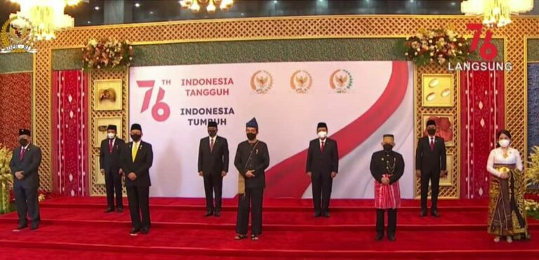 Jokowi Kenakan Baju Adat Baduy di Sidang Tahunan MPR