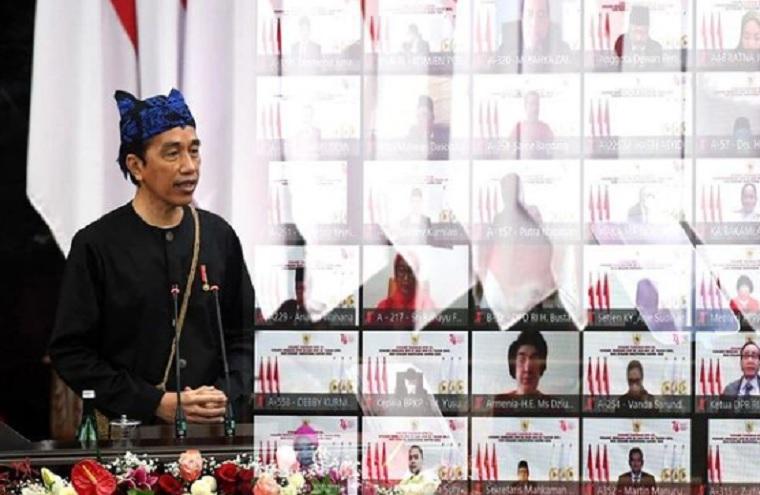 Jokowi Peringatkan, Tak Ada yang Aman dari Corona