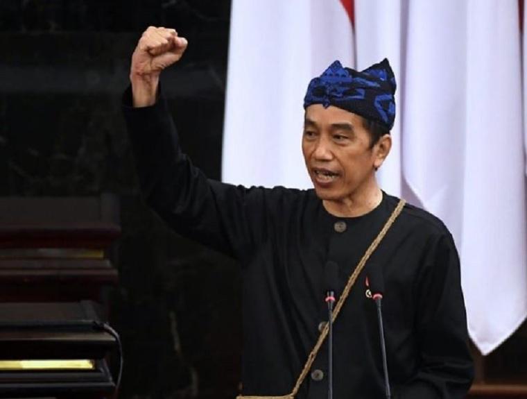 Di Sidang Parlemen, Jokowi Ngaku Tak Anti Kritik