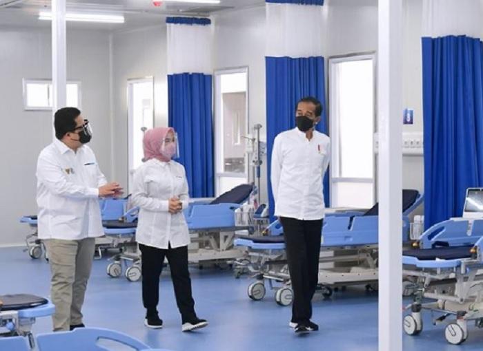 Erick: RS Darurat Covid-19 Keempat Milik BUMN Siap Beroperasi