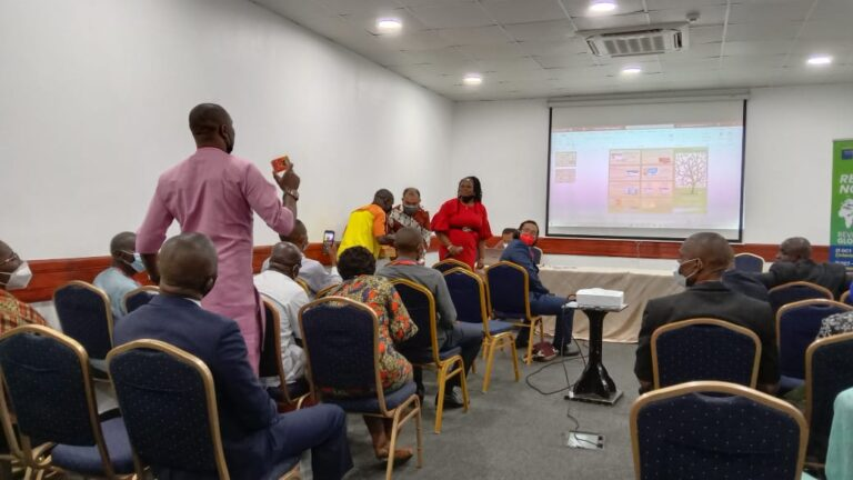 Produk UMKM 'Mejeng' di Pameran Mamin Nigeria