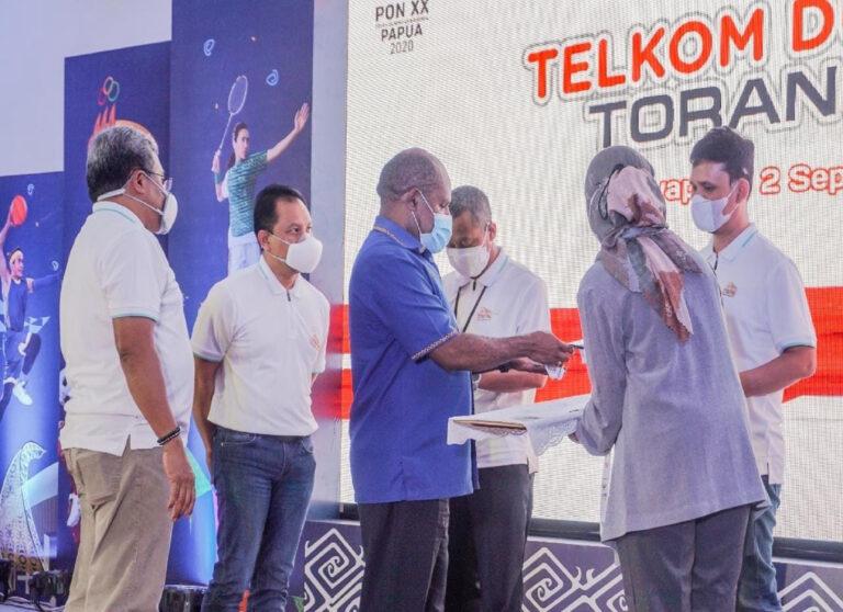 Telkom Siapkan Infrastruktur Kelas Dunia di Ufuk Timur Indonesia