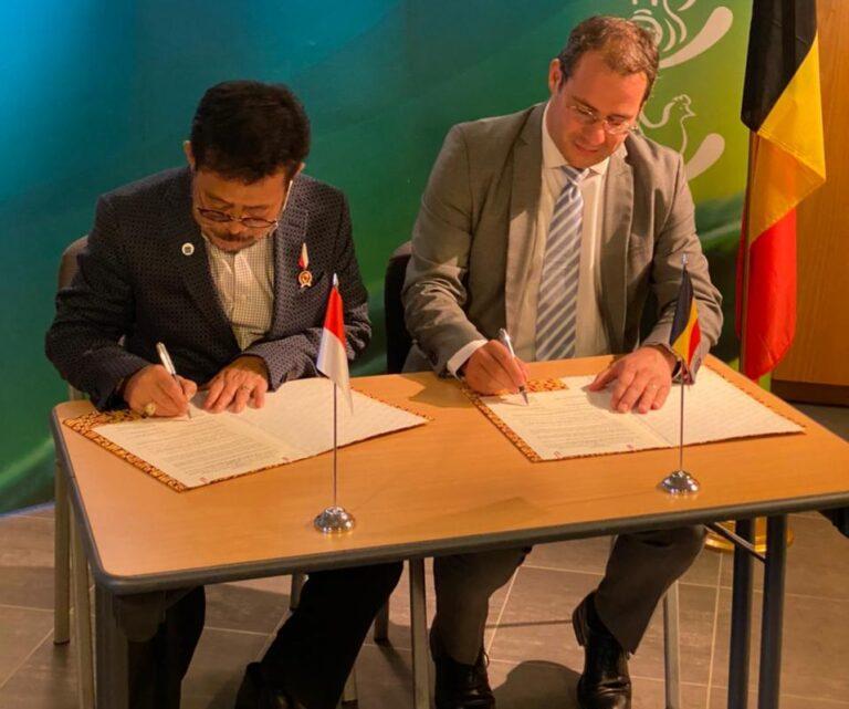 Pemerintah RI-Belgia Tandatangani Kerja Sama Peternakan