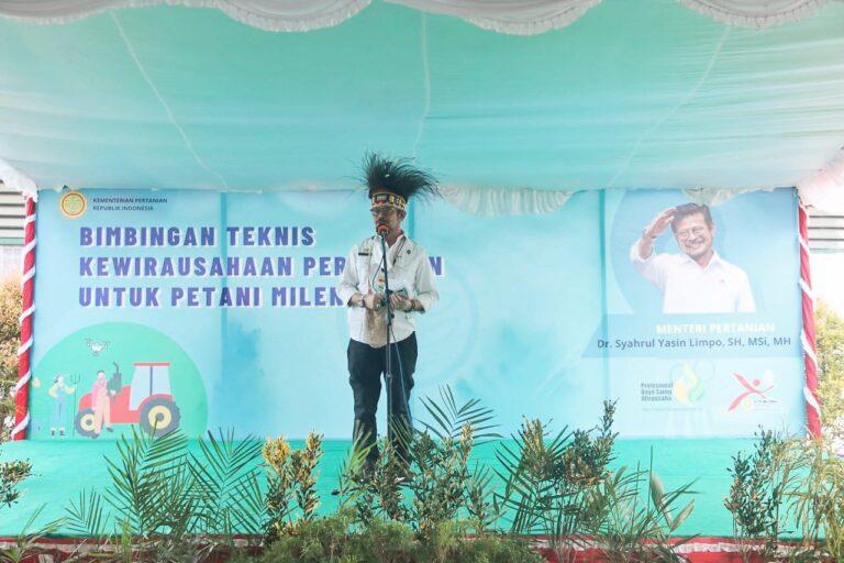 Bangun Pertanian di Ujung Indonesia, Senator Papua Apresiasi Jajaran Kementan