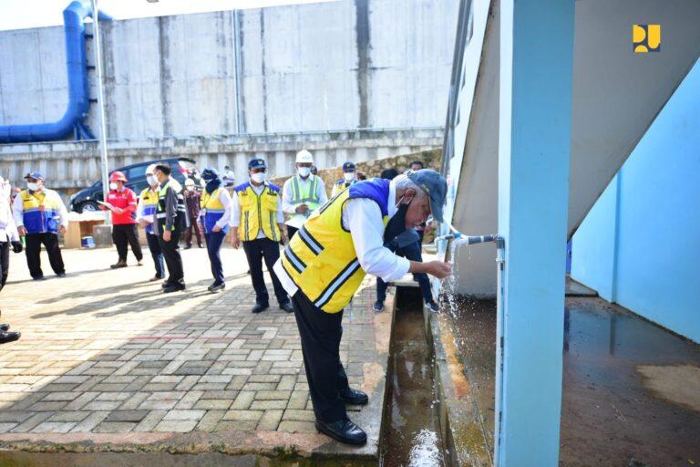 Menteri Basuki Targetkan Pembangunan SPAM Bandar Lampung Rampung Tahun 2022