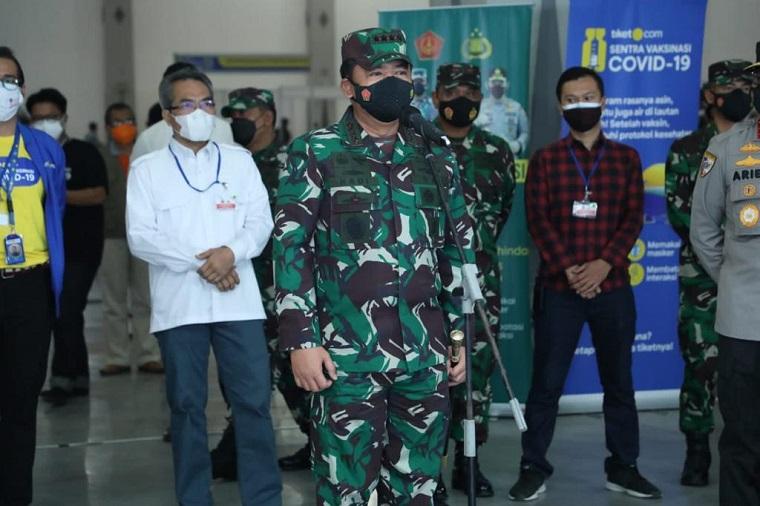 Panglima TNI Apresiasi Kinerja Nakes yang Tak Kenal Lelah