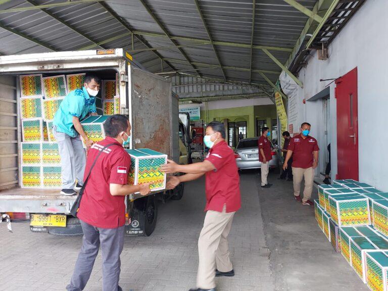 PT Jamkrindo Berikan Bantuan Paket Nutrisi dan Sembako untuk Tenaga Kesehatan