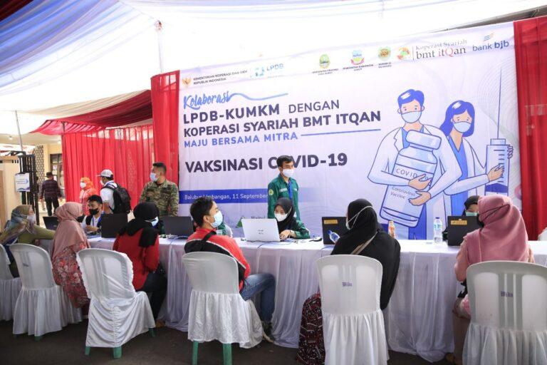 Gandeng BMT Itqan, LPDB Sasar 3.500 Peserta Vaksin Covid-19 di Garut