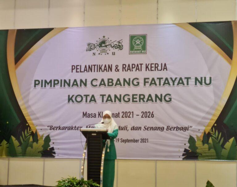Fatayat NU Kota Tangerang tegaskan Komitmen Pengabdian Organisasi pada Kemanusiaan