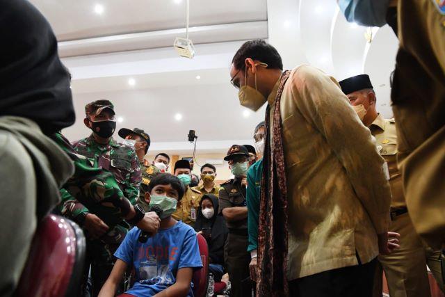 Mendikbudristek Pantau Percepatan Vaksinasi PTK di Provinsi Jambi